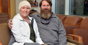 photo from article Rebekah Griffin: Cervical cancer survivor finds hope in clinical trial