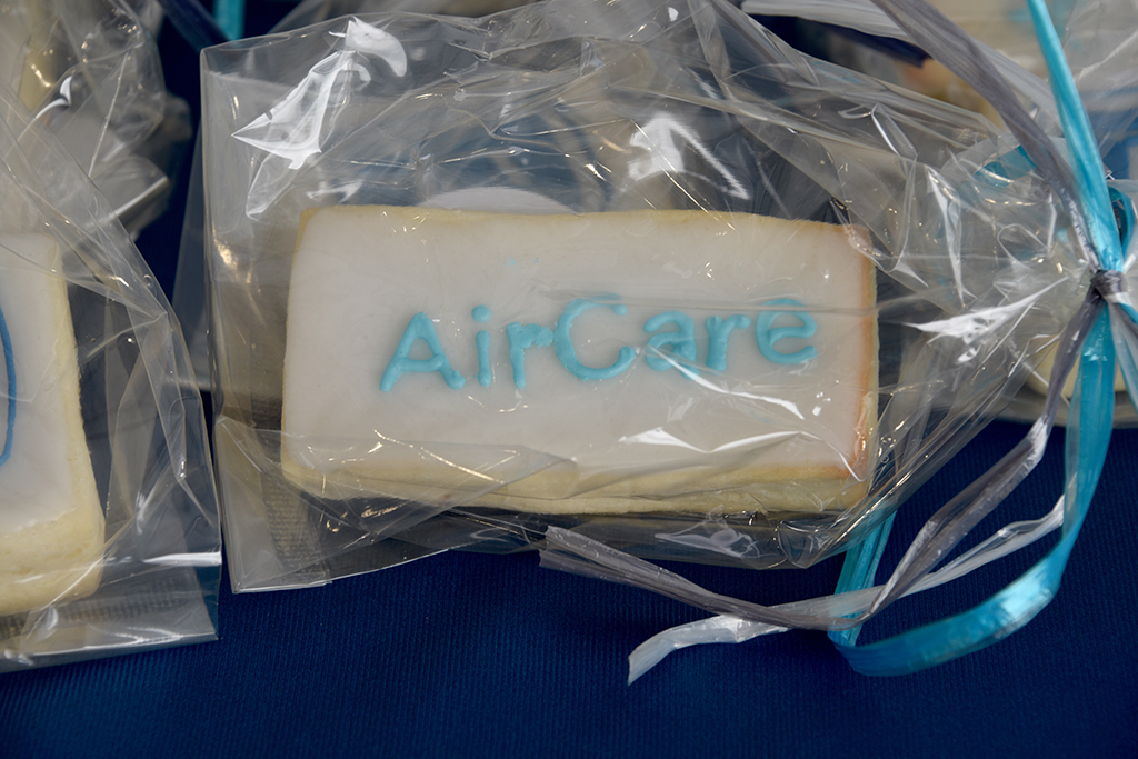 Cookie with AirCare logo